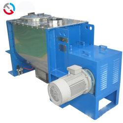 خلاط صناعي عالي السرعة من الفولاذ المقاوم للصدأ شريط أفقي لولبي مزدوج خلاط بلاستيكي ماكينة مازج بترخيص CE