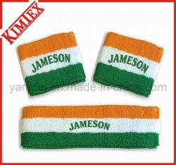 Le coton Terry bracelet de sports et à l'arceau (kimtex-66)