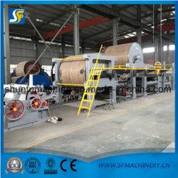 1575 Machines, fabrication de papier carton Kraft Ligne de production de papier ondulé avec 6T/D