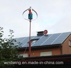 400W Aucune vibration lévitation magnétique vertical pour utilisation à domicile de l'éolienne