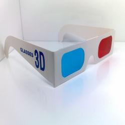 Hot Sale anaglyphe verres jetables en papier 3D