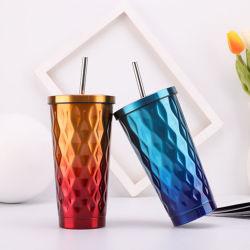 Nuova tazza di corsa della tazza di caffè dell'acciaio inossidabile della chiavetta di vuoto 450ml (SH-SC58)