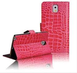 Крокодил Leopard Flip PU Кожаное портмоне крышки картера для Samsung Galaxy S4 I9500