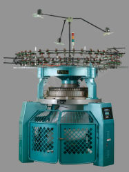 織物のMachinery&Partsの高速内側肋骨の円の編む機械