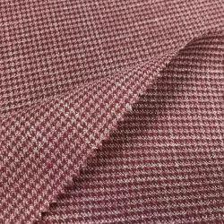 O poliéster Jacquard tecido stretch Senhoras Plaid Mercado grossista de vestuário de tecido listrado