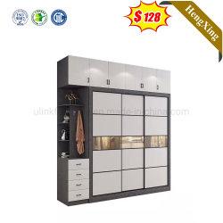 Slaapkamermeubilair glazen deur Kledingkast moderne Schoenen kast Home meubilair MDF houten kledingkast