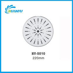 5010 ronda tres funciones ABS Cromado superior cuarto de baño ducha de lluvia