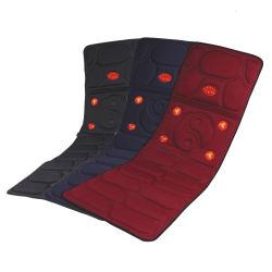 """Ammortizzatore pieno di vibrazione del Massager della sede della stuoia del riscaldamento di vibrazione della parte posteriore della spalla del collo del materasso di massaggio di """"chi"""" di Shiatsu Tai del corpo riscaldato Infrared elettrico"""