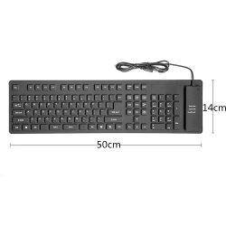 [كس] [أم] 85 109 مفاتيح مكتب الحاسوب المحمول حاسوب مرنة سليكوون [أوسب] يبرق لوحة مفاتيح لأنّ حاسوب أجزاء
