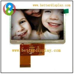 Baugruppe PAL/NTSC des Al-TFT LCD 4.3 Inch LCD-Panel TFT LCD