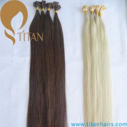 До кабального человеческого волоса добавочный номер U Совет Кератин волос