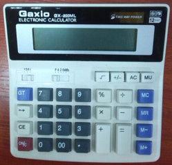 Cubierta de plástico para molde calculadora