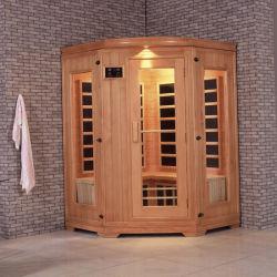 3-4 stanza di lusso di sauna dell'onda chiara di sauna infrarossa rossa della persona