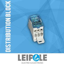 Cable eléctrico de distribución de alimentación conector del bloque de cobre Ukk125A