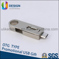 DIY Logo OTG USB Pen Drive Flash Creative disque USB-OTG (UL001)