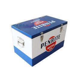 30L elegante metálica exterior de aço inoxidável cerveja caixa do resfriador