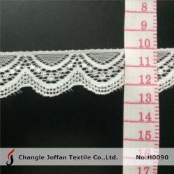 Banda de encaje elástico blanco lencería (H0090)