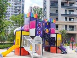 Nieuw soort Muziek Outdoor Children Playground Cartoon Design Amusement Park Uitrusting Kids Outdoor items TUV/ASTM/ISO/CE
