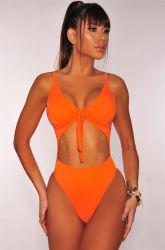 2021 Costumi da bagno Sexy personalizzati Donna Sexy taglio alto vita Un pezzo di bikini