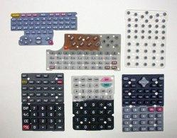 Botones de caucho de silicona para los productos electrónicos