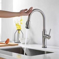 Easy-Use бамбук под струей горячей воды на кухне в форме интеллектуальной сенсорной под струей горячей воды