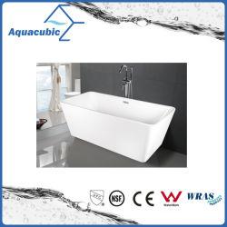El cuarto de baño Bañera Free-Standing acrílico cuadrado (AB1506W)