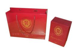 고객 가방/스킨 케어 가방/종이 쇼핑백(핫 스탬핑 포함