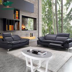 Cuir véritable fait de conception moderne Accueil Salle de séjour un canapé-meubles Chiness