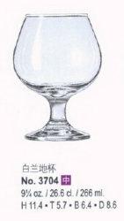 Het Cognacglas van de kwaliteit voor Star Hotel en Restaurant (3704)