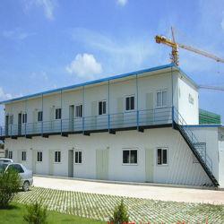 Экономичные современный двухэтажный модульный сборные дома