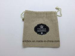 Jy-Cup08  Мешок инструмента хранения ювелирных изделий ткани Vevlet хлопка подарка промотирования с логосом вышивки