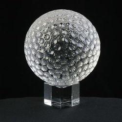 水晶アクリルの球かごまかす球またはゴルフ・ボールのJdCB045