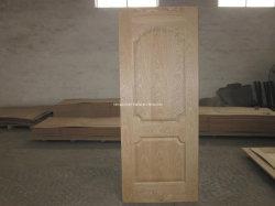 جلد الباب المقولب من خشب الدردار الطبيعي