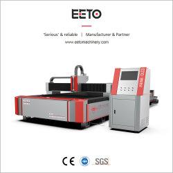 Eeto Standard Single mesa de trabajo 3000*1500mm máquina de corte láser de fibra Láser de IPG Serie Power