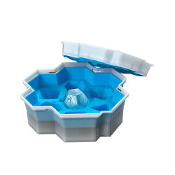 Hoogwaardige fabrikant Ice Tray Dice Sieve Ice Cube Mold Ice Bakvorm