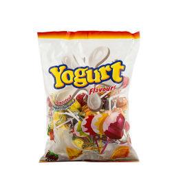 Caramella dura Assorted del Lollipop delle sfere di sapore del yogurt