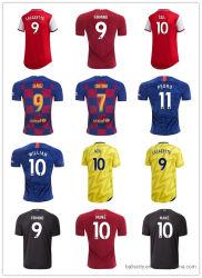 Camicia su ordinazione di gioco del calcio di sublimazione di usura di sport di disegno della Jersey di calcio di gioco del calcio