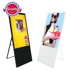 Señalización digital portátil de 55 pulgadas Pantalla LCD Touch LCD Tablet PC reproductor de medios de publicidad