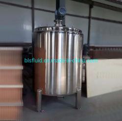 Acero inoxidable de 1.000 litros de leche depósito mezclador de acero inoxidable