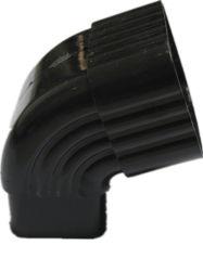 빗물 지붕 시스템 PVC 거터 피팅 90도 엘보우