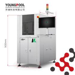 Détection de fumée machine de marquage au laser Source laser vert PCB double caméra Opperation Safedoor joint quatre feux Option CO2, UV, le feu vert, la fibre optique