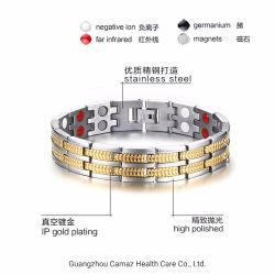 Venda por grosso homens Anti Radiação Germânio Titânio Bracelete Energia saudável do magneto