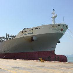 Het Overzees die van China van Shanghai tot Le Havre Frankrijk verschepen