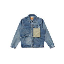 Nieuwe Stijl 100% Katoen Jean Jacket voor Mensen