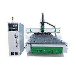 Armários móveis industriais Desktop Gravura de madeira CNC Router Máquina de gravura de corte para trabalhar madeira 1325 para venda tipo camisa carregadores de ferramentas automático
