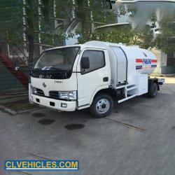 5500L Dongfeng 4X2 Mobile le ravitaillement en carburant du réservoir de GPL Gaz chariot distributeur chariot GPL