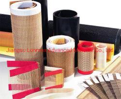 China los valores de fábrica de alta temperatura de PTFE Non-Adhesive recubierto de transportador de cinta de malla de fibra de vidrio.