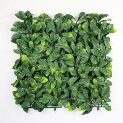 Het Goedkope Groene Kunstmatige Gebladerte van nieuwe Producten voor Verticale Tuin