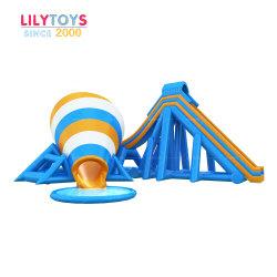 [ليلتوس] تصميم أصليّ عملاقة قابل للنفخ يعوم يصعد جبل جليد ماء لعب مع منزلق