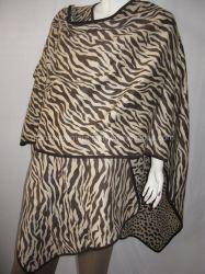 Lã Leopardo Zebra Cape